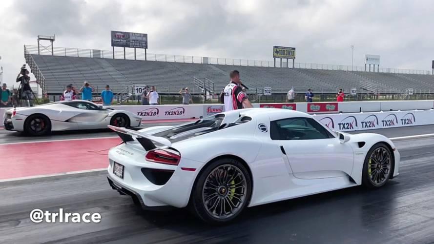 Porsche 918 Spyder vs. LaFerrari: ¿cuál acelera más?