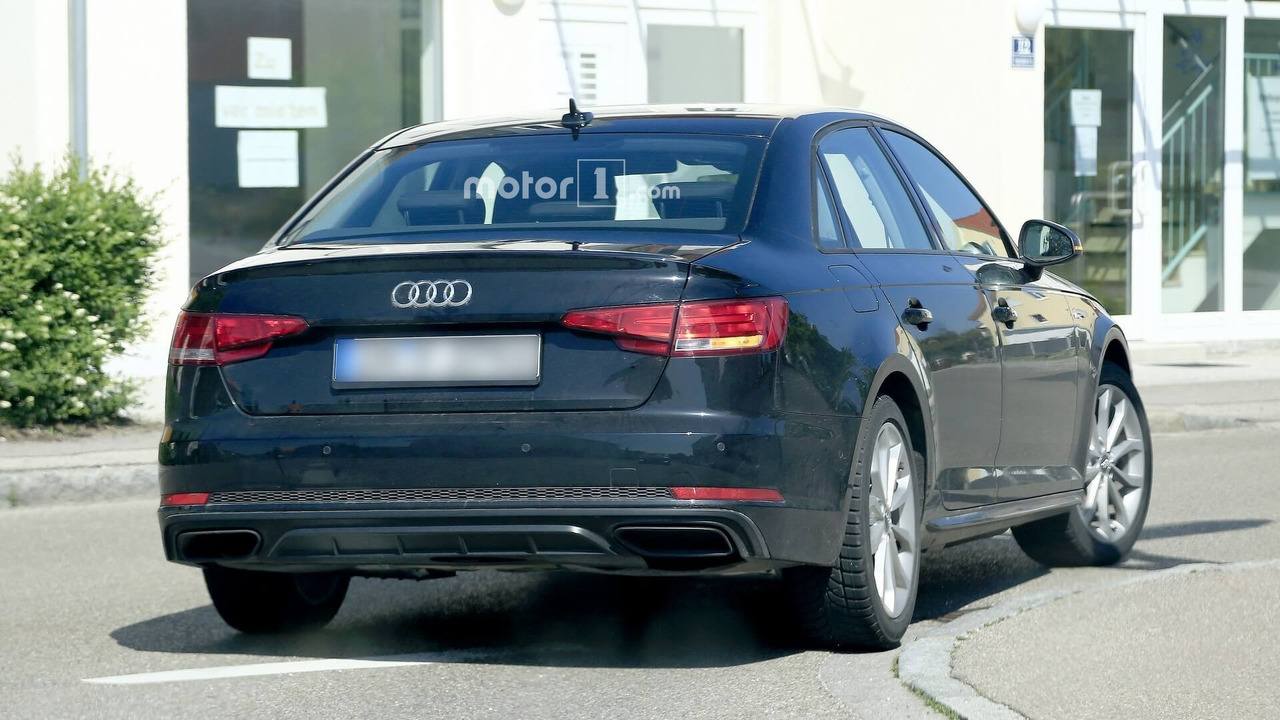 Audi A4 Sedan Facelift Makes Spy Photo Debut