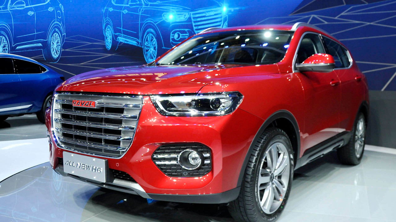 9th place: Haval (849,554 sales in 2017)