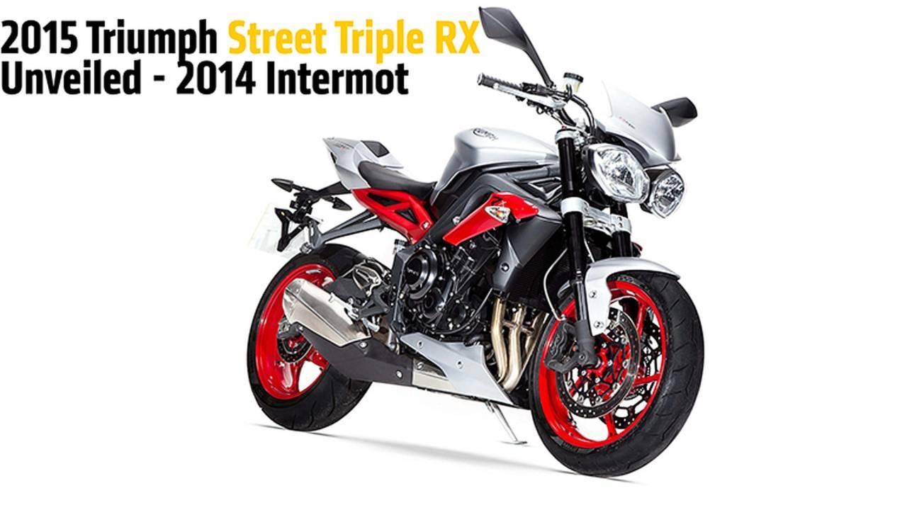 2015 Triumph Street Triple RX Unveiled - 2014 Intermot