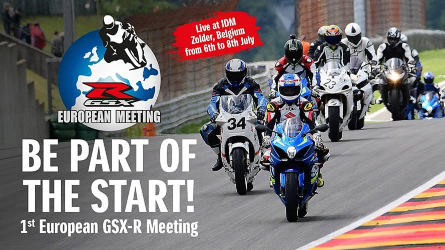 Suzuki organiza un encuentro de propietarios de la GSX-R en Zolder