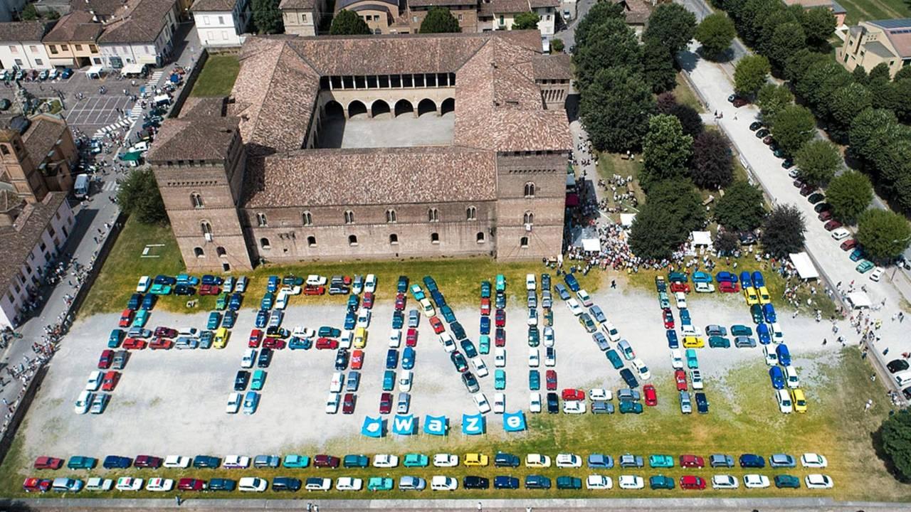 Fiat Panda raduno a Pandino 2018
