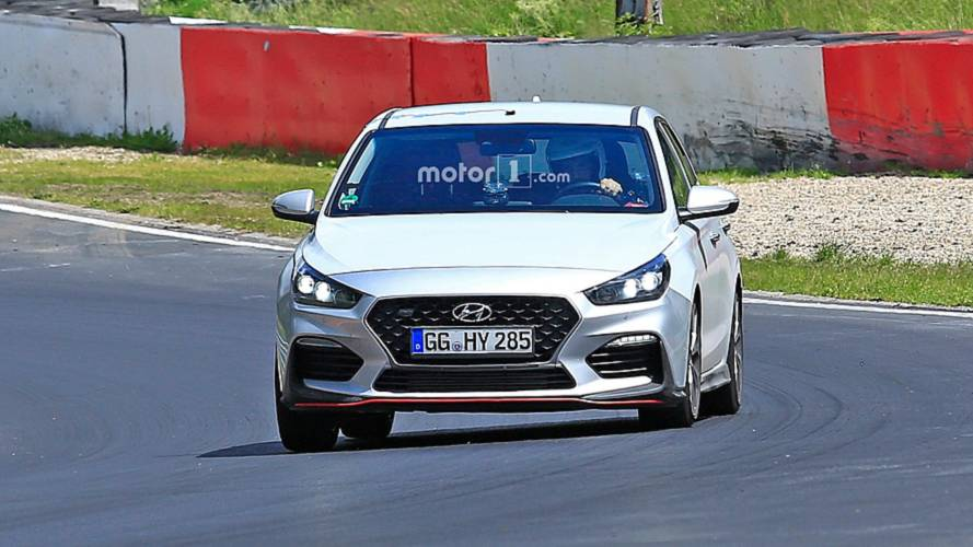 Hyundai i30 N-Line New Spy Photos