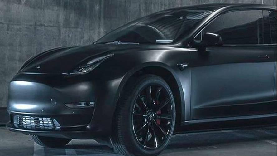 Tesla Model Y prototipi üretim onayı aldı