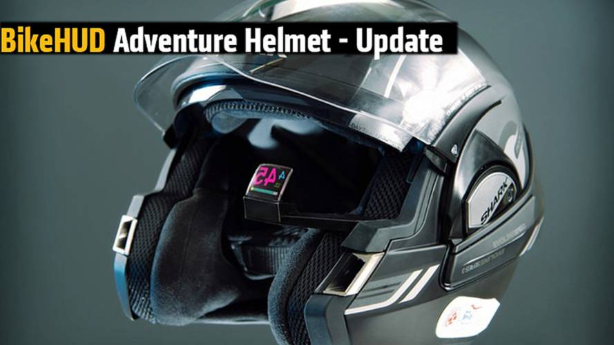 Answer to the Skully? Heads-Up Display BikeHUD Adventure Helmet