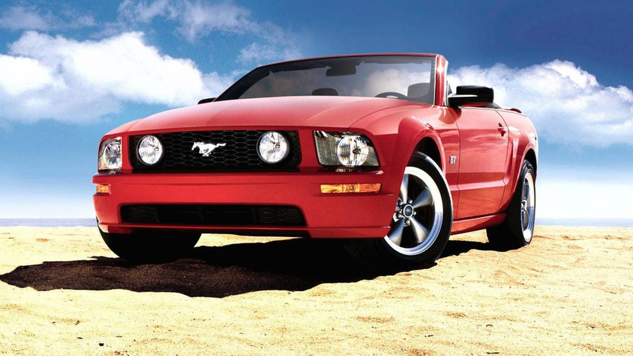 2007-08 Ford Mustang GT Convertible
