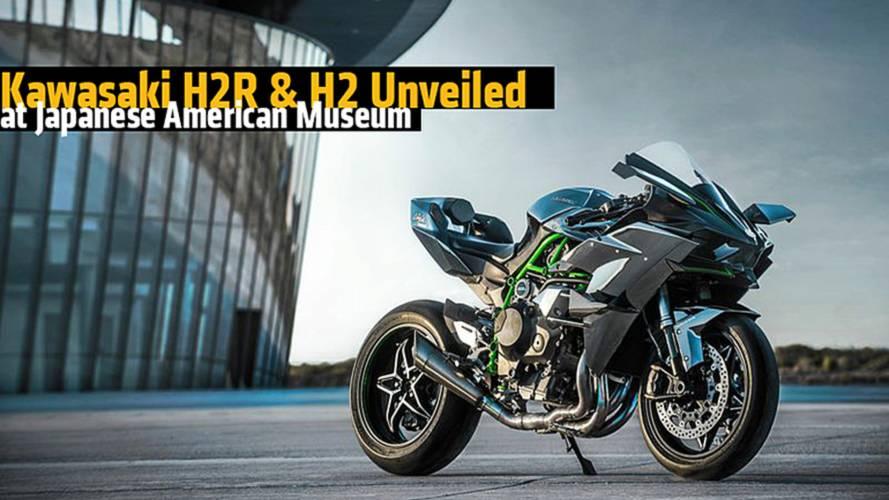 Kawasaki H2R & H2 Unveiled at Japanese American Museum