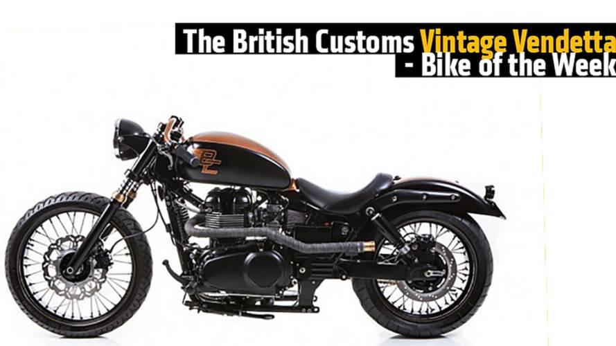 The British Customs Vintage Vendetta - Bike of the Week