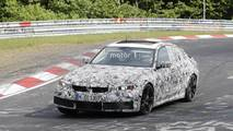 New BMW M3 spy photo