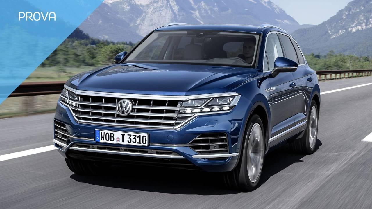 Volkswagen Touareg, la prova