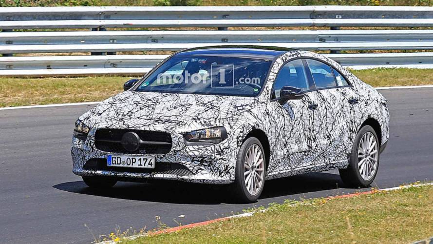 Next-Gen Mercedes-Benz CLA-Class Spy Shots