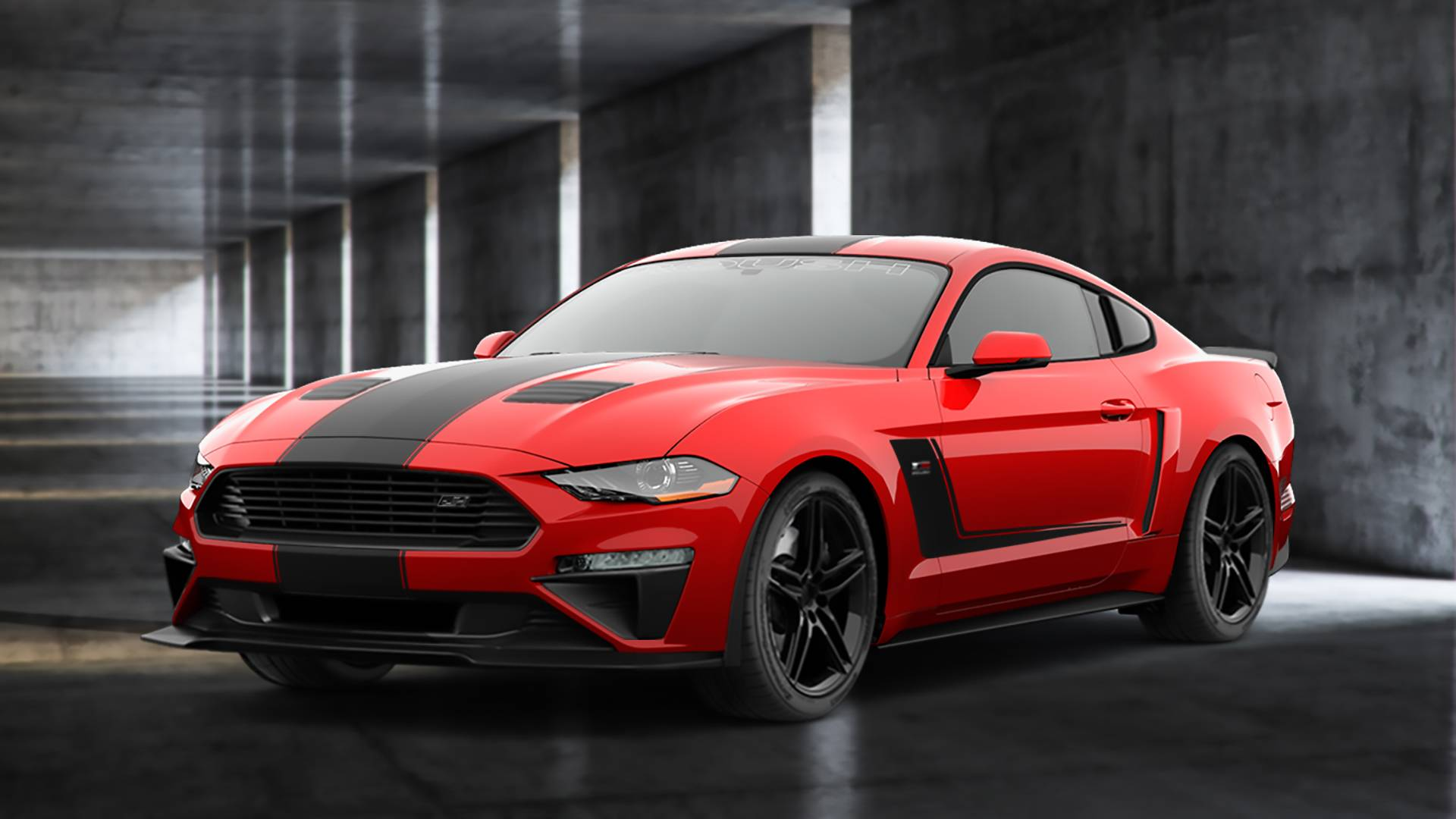 2018 roush jackhammer mustang packs a 710 hp punch to the gut