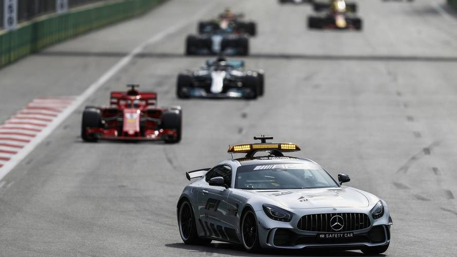 Lewis Hamilton Says Sebastian Vettel Broke Safety Car Rules In Baku