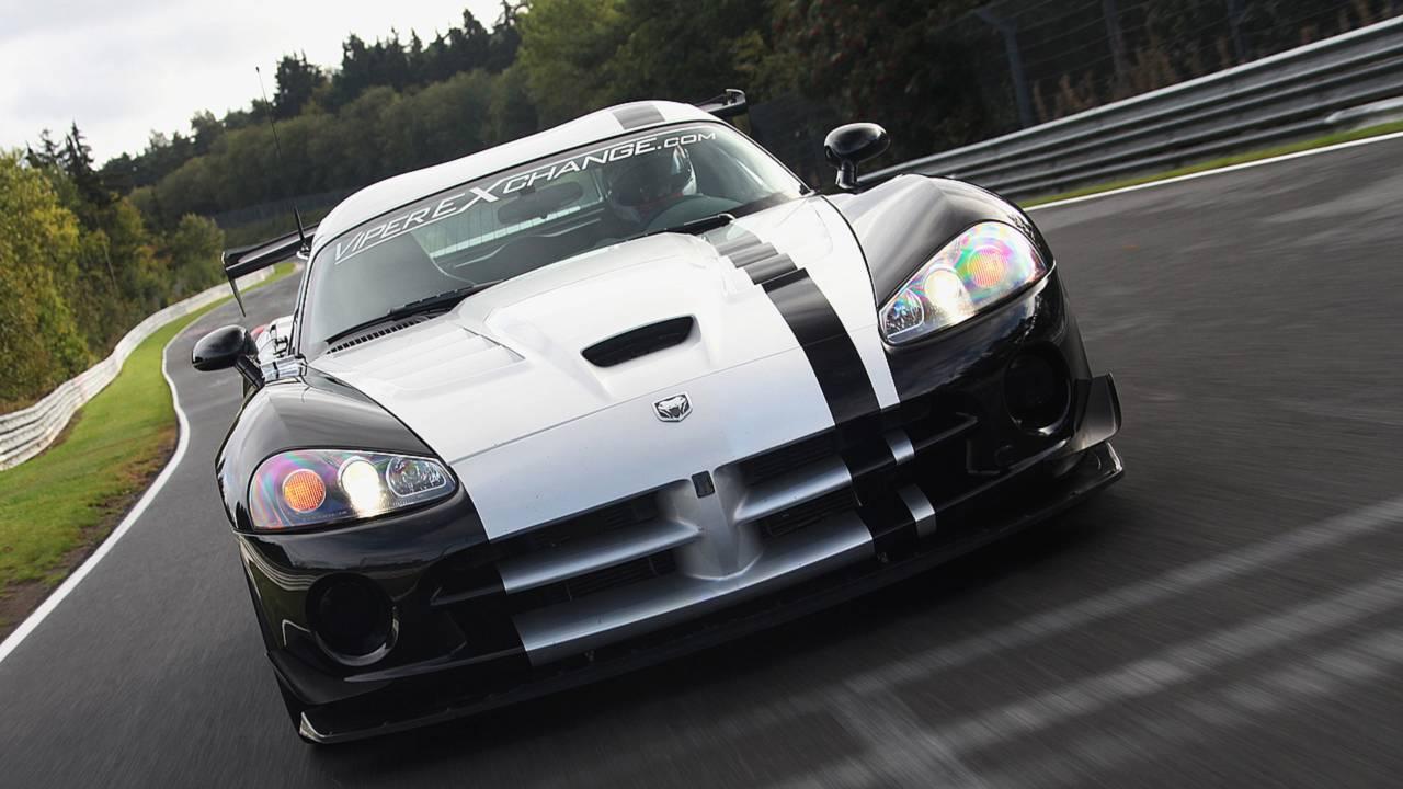 1) 7:12.13 – 2010 Dodge Viper ACR
