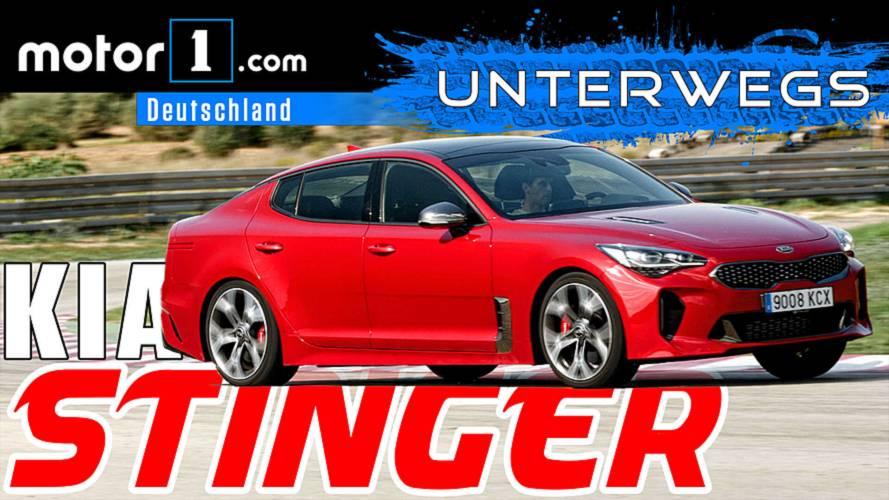 Ja, er kann driften!: Kia Stinger GT | UNTERWEGS mit Daniel Hohmeyer