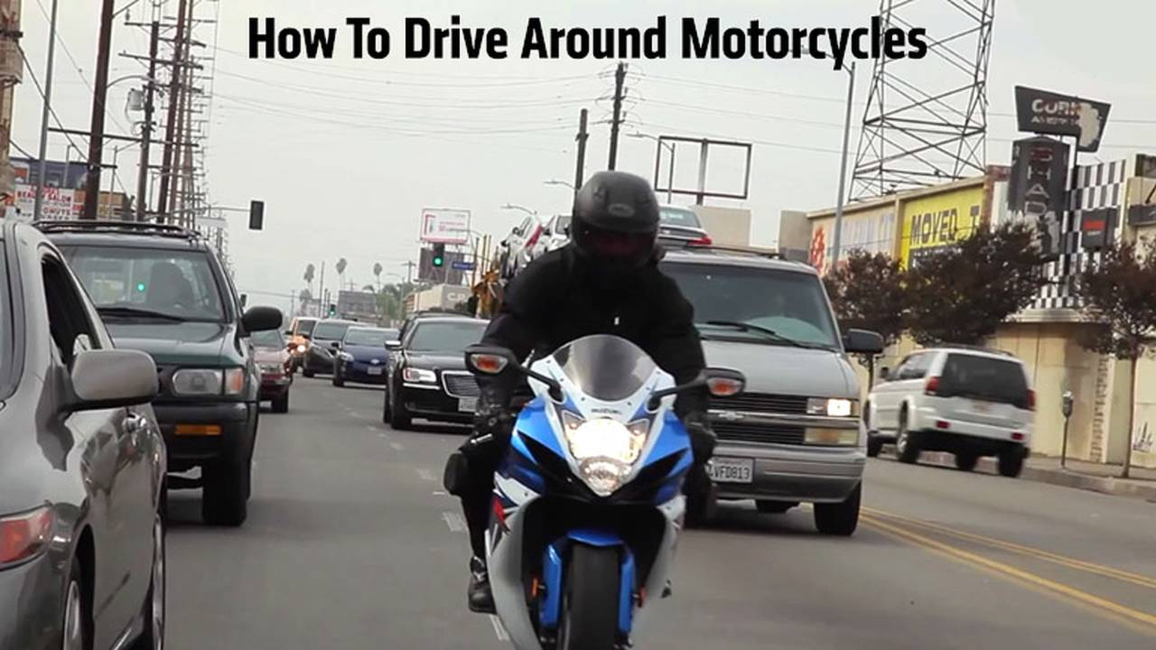 How To Share The Road With Motorcycles
