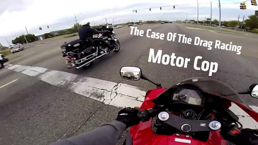 Racing YouTube Motorcycle Cop Forced To Resign. Then Gets Reinstated.
