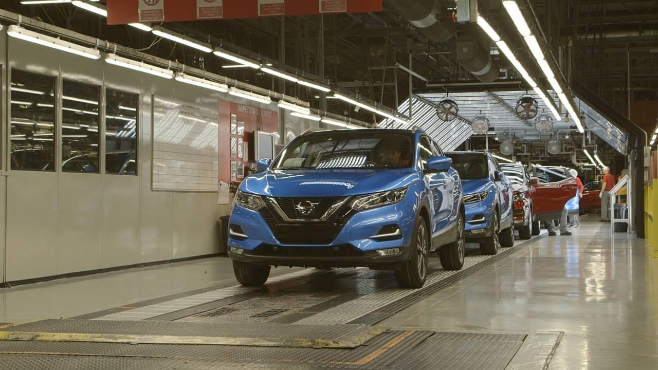 Nissan fabbrica