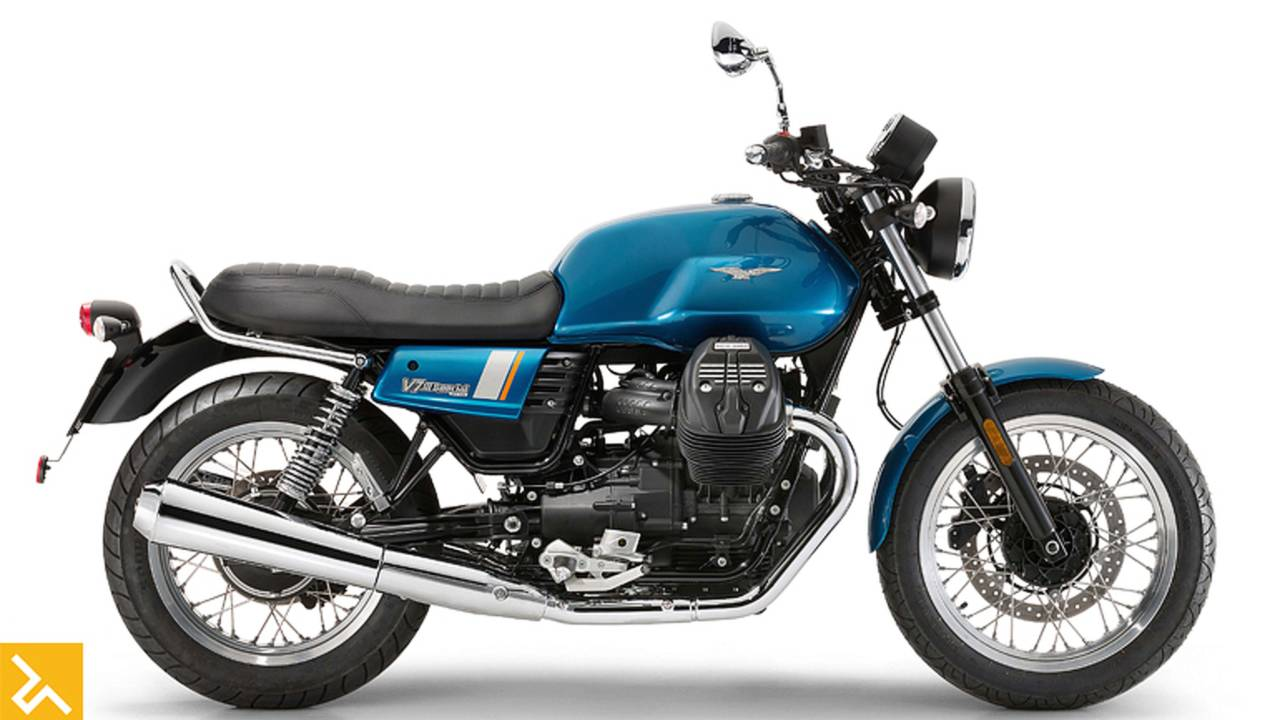 Moto Guzzi Honors V7's 50th Anniversary