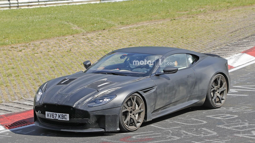 Aston Martin DBS Superleggera Spy Photos