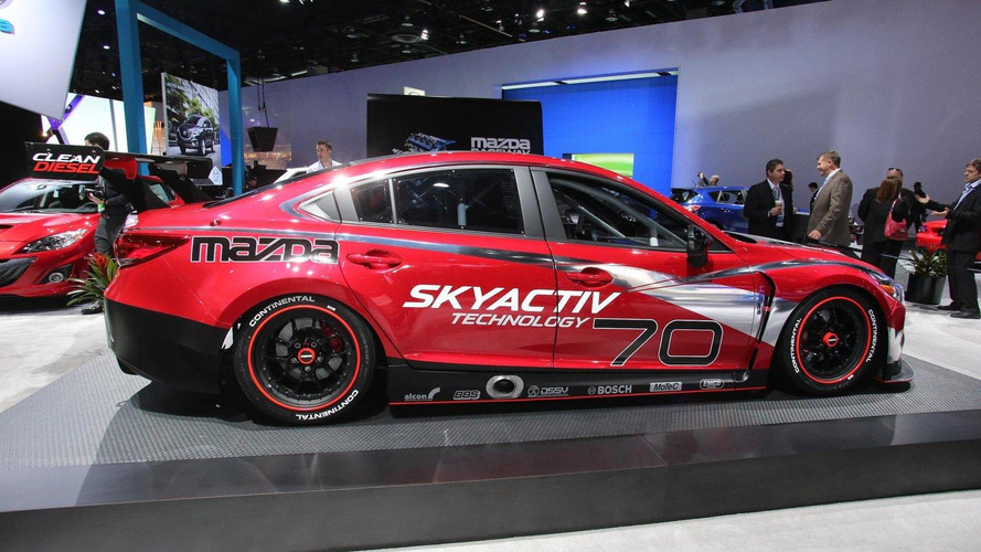 Mazda6 Skyactiv-D racecar unleashed in Detroit
