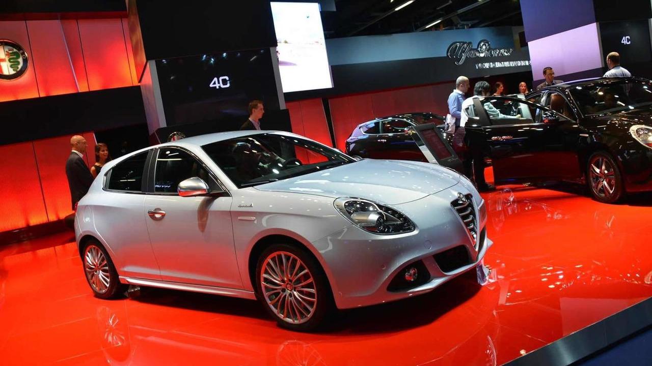 2014 Alfa Romeo Giulietta live at 2013 Frankfurt Motor Show 13.09.2013