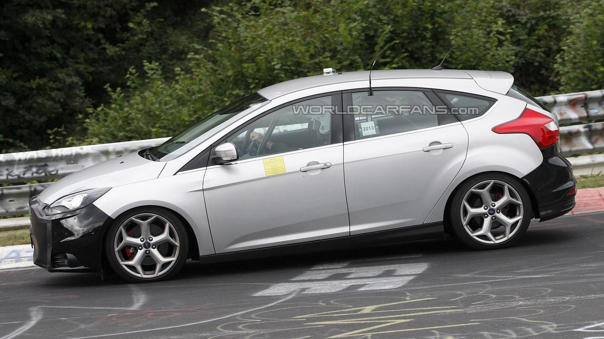 2014 Ford Focus St Facelift Spied Once Again Motor