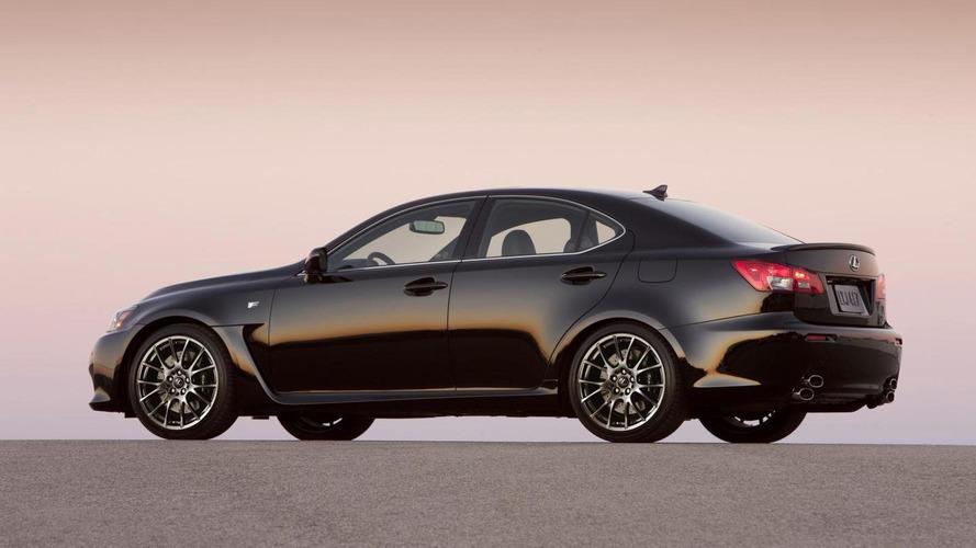 Lexus IS F kesinlikle yenilenmeyecek