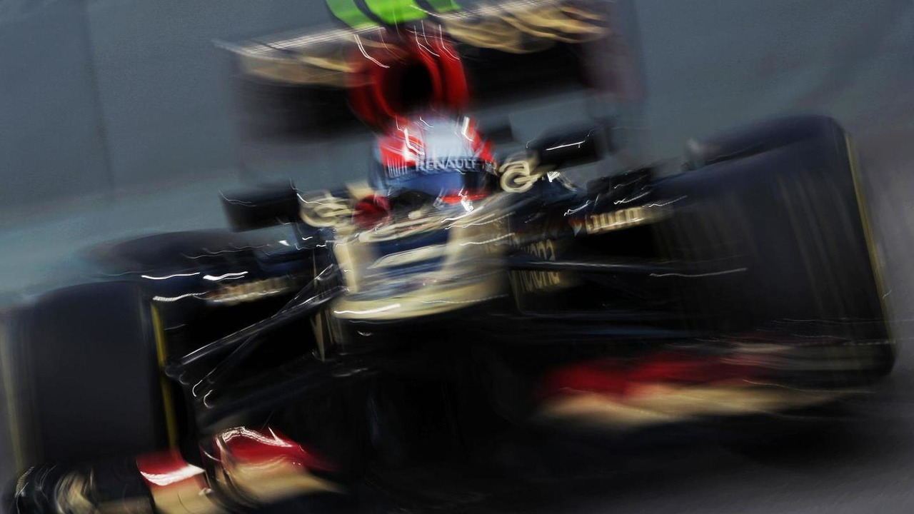 Romain Grosjean 02.11.2013 Abu Dhabi Grand Prix