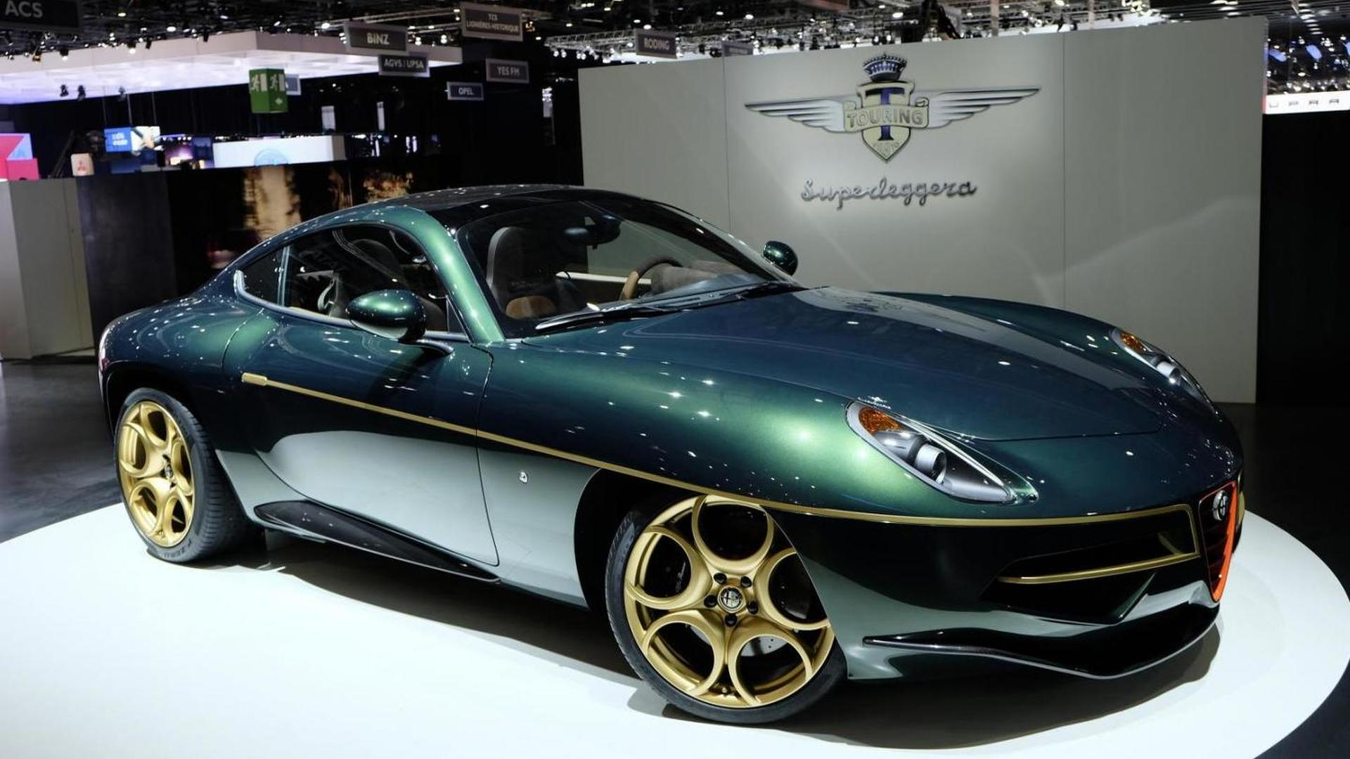 Alfa Romeo Disco Volante For Sale >> Touring Superleggera Delivering Alfa Romeo Disco Volante In