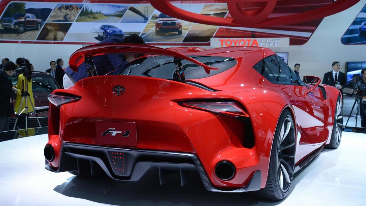 Toyota FT-1 Concept live at NAIAS 2014