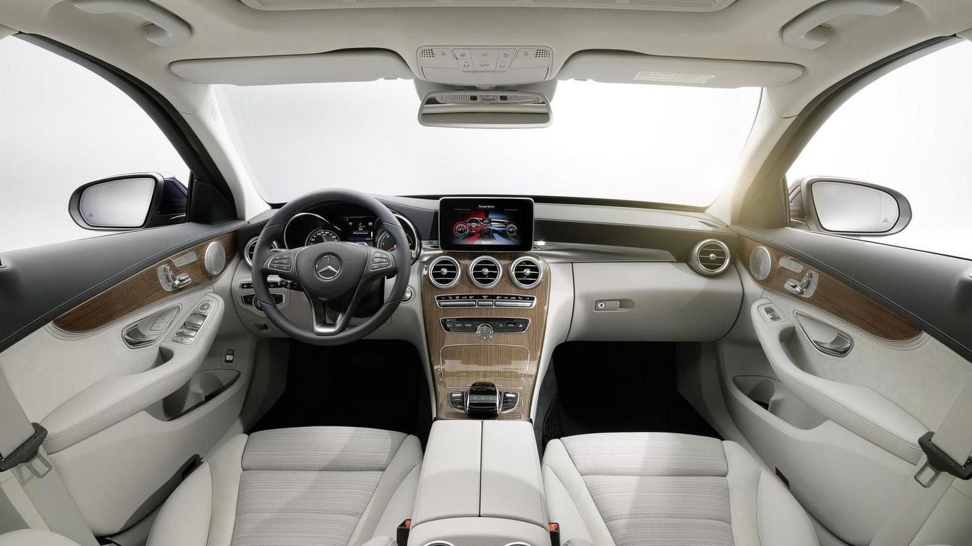 2014 Mercedes Benz C Class Officially Revealed With Three Engines And  AIRMATIC