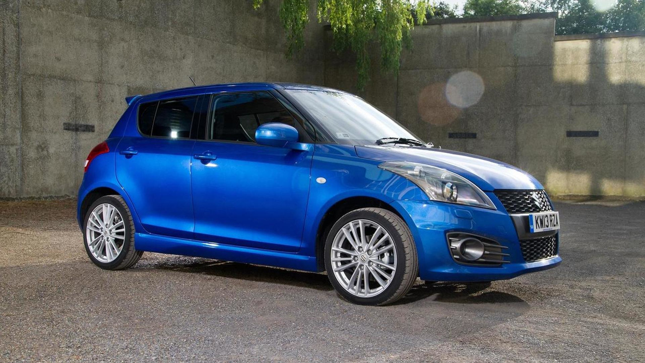 2013 Suzuki Swift Sport five-door (UK-spec) 09.07.2013