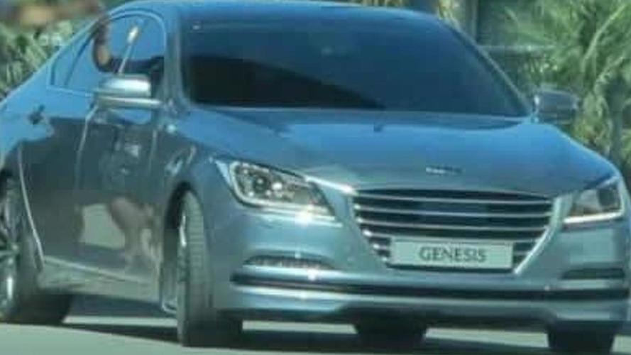 2014 Hyundai Genesis spied undisguised