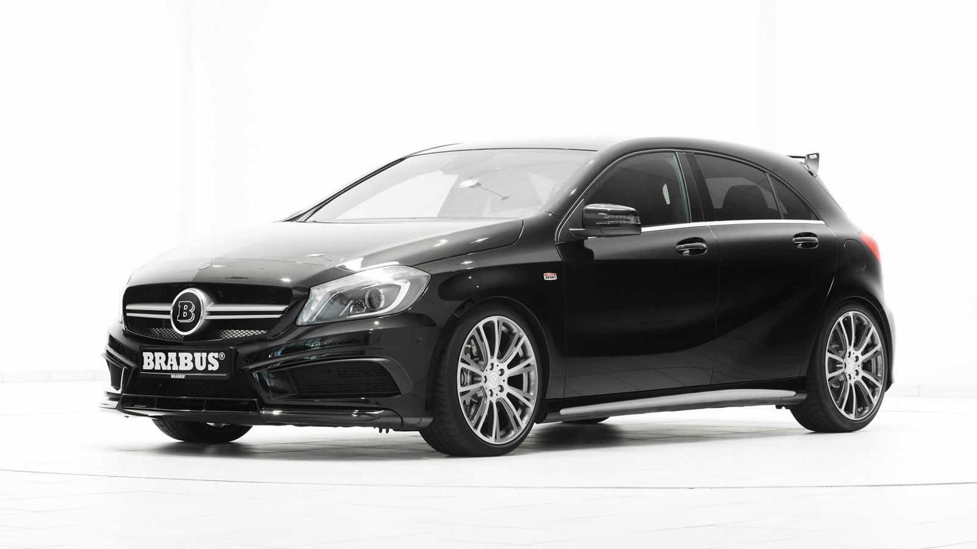 mercedes benz a45 amg modified by brabus