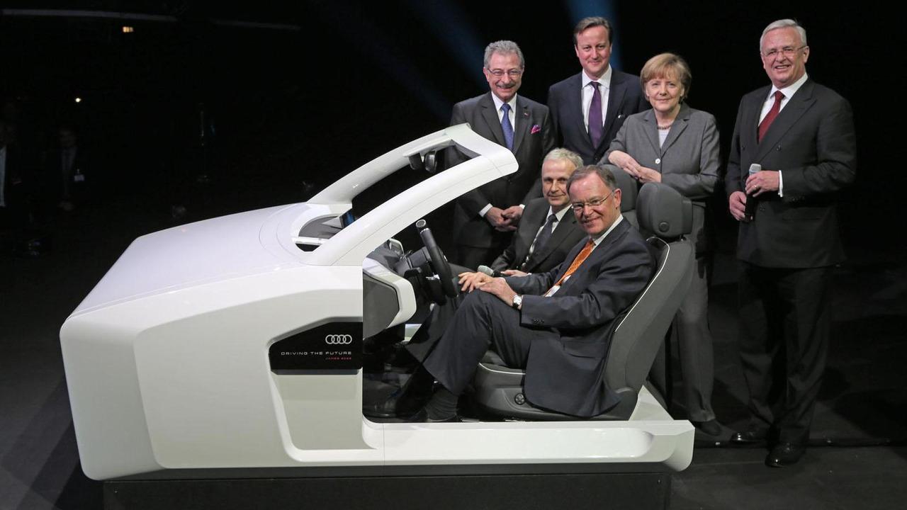 Audi James 2025 virtual cockpit