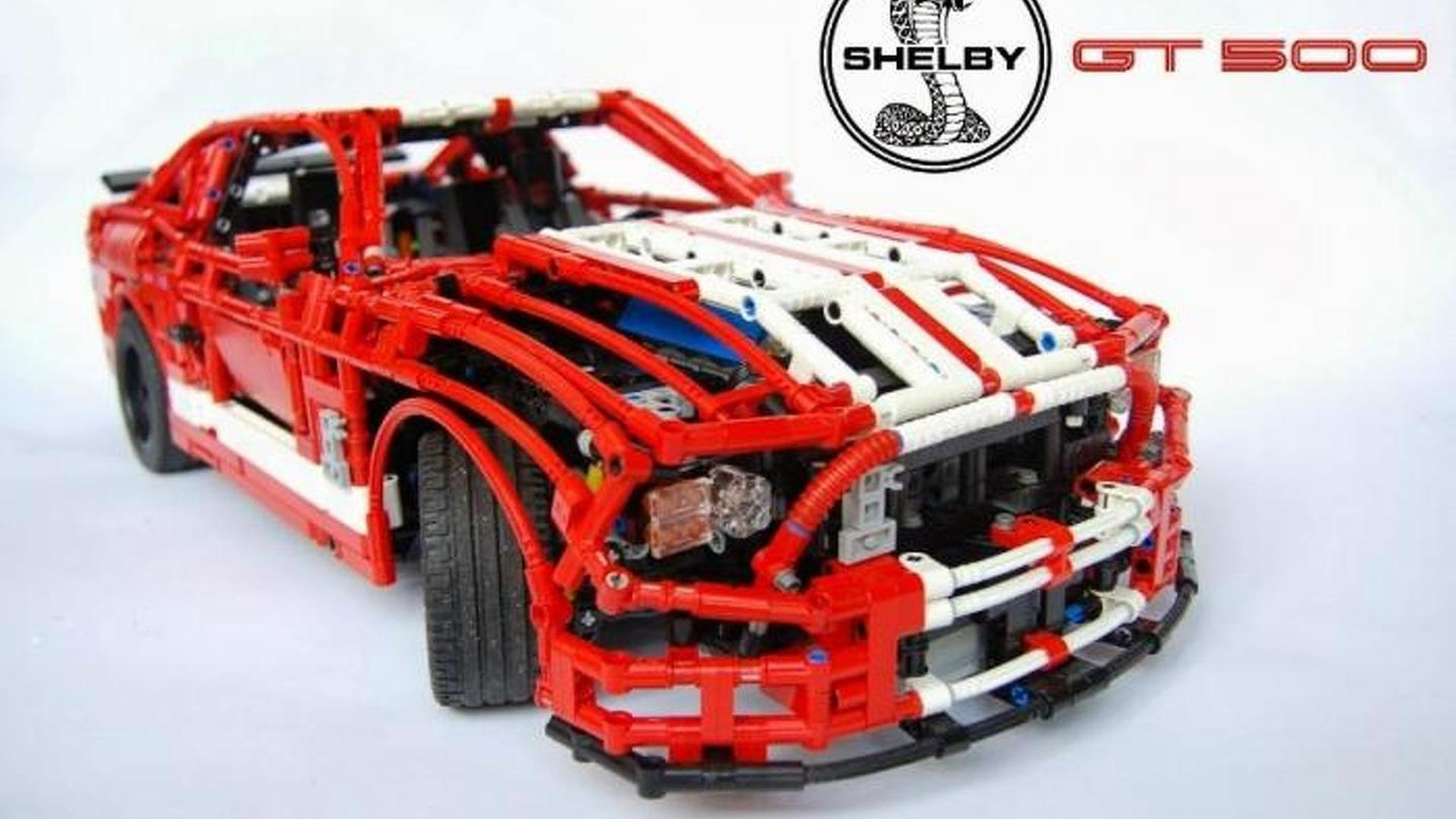 Lego made 18 shelby gt500 is insanely detailed video