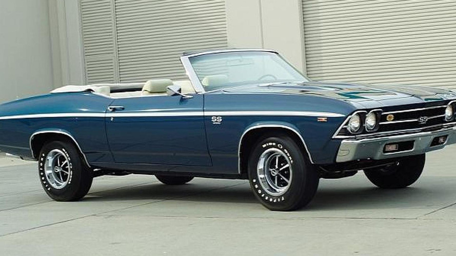1969 Chevrolet Chevelle SS 396 L89 Convertible for sale ...