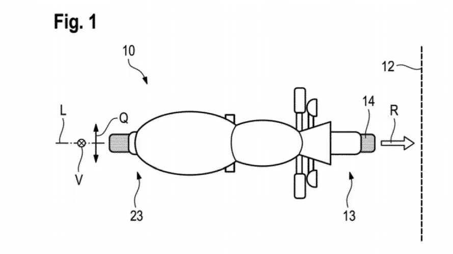 BMW Motorrad Crumple Zone Patent