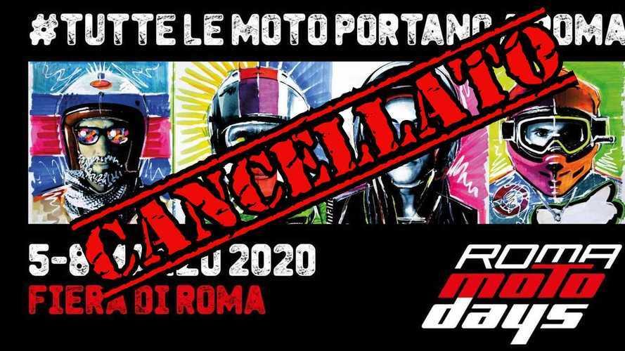 Coronavirus: cancellato Roma Motodays 2020