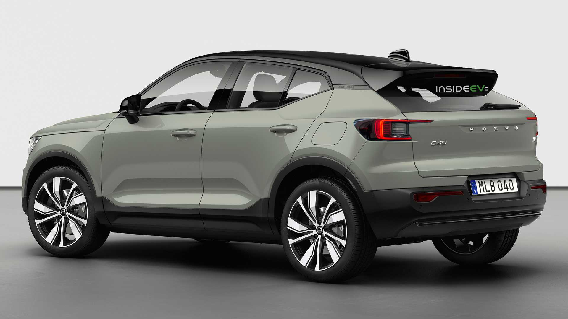 Volvo Reportedly Planning C40 All-Electric Coupe Crossover
