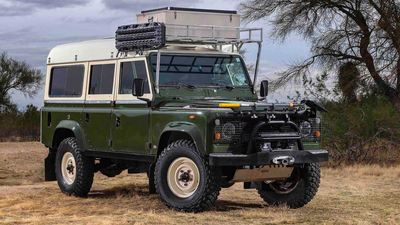 Buy This Classic Land Rover Dormobile, Go Overlanding Old School