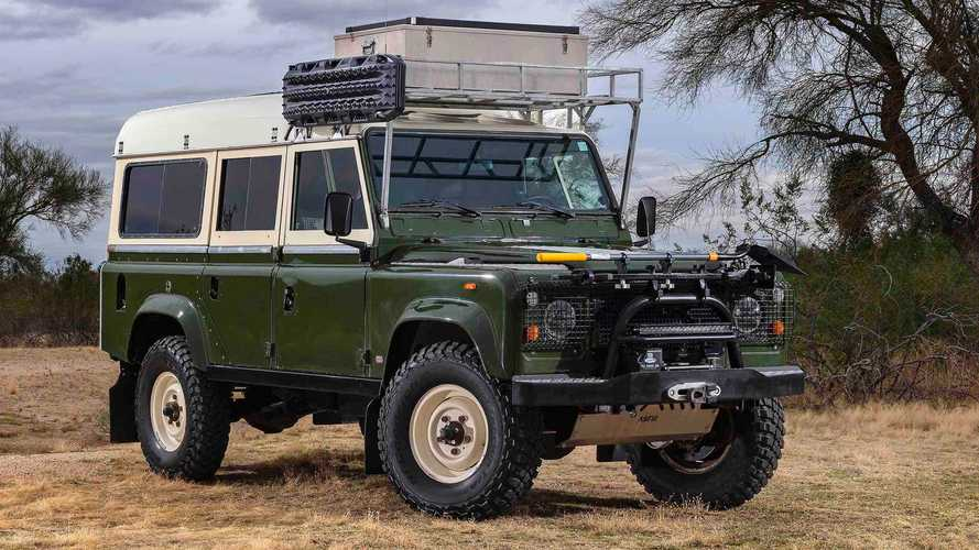 Buy This Classic Land Rover Dormobile, Go Overlanding Old School