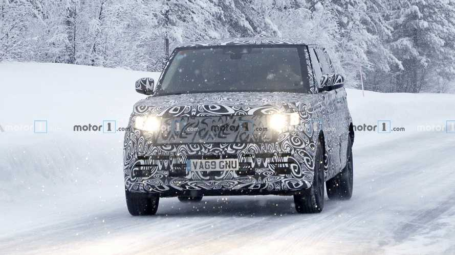 2021 Range Rover spy photos