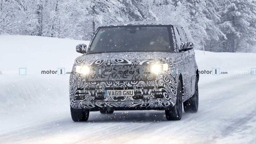 Длиннобазный Range Rover – шпионские фото
