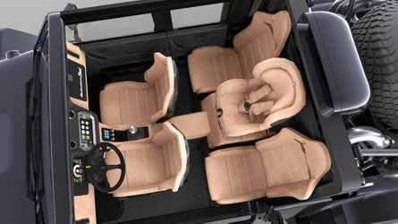 SCG Boot four-door getting weird interior layout with baby seat