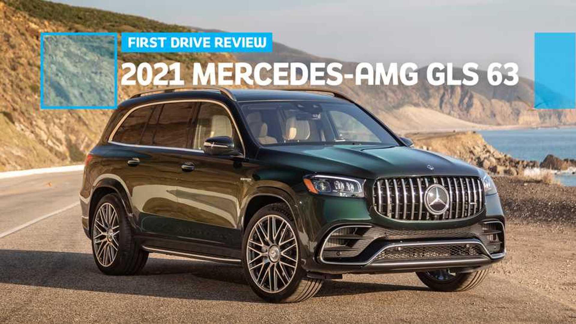2021 Mercedes GLS Photos