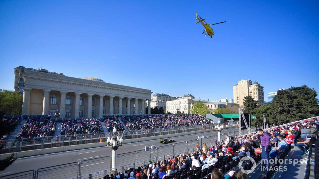 Nico Hulkenberg at Azerbaijan GP 2019