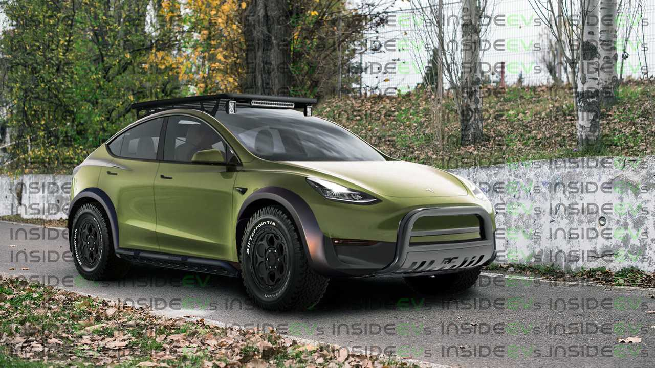 Off-Road Tesla modell Y