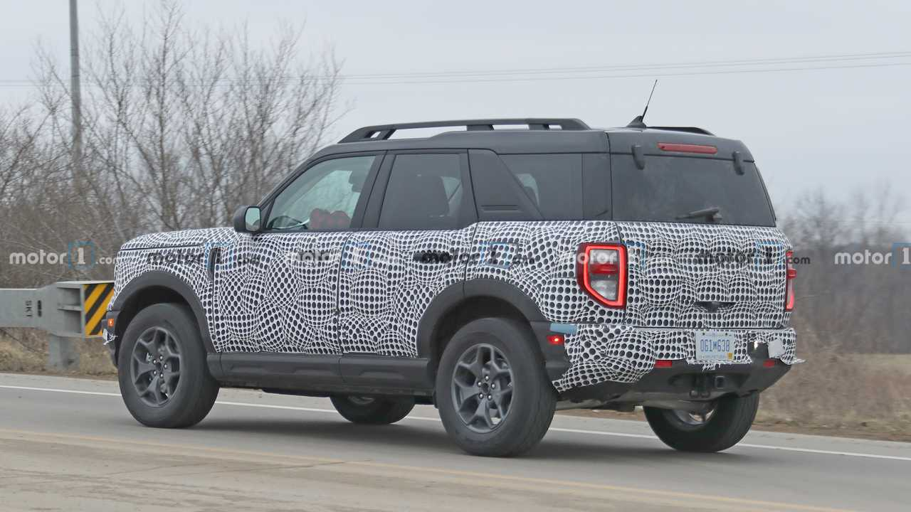 2021 Ford Bronco Sport Interior Fully Revealed In New Spy Shots